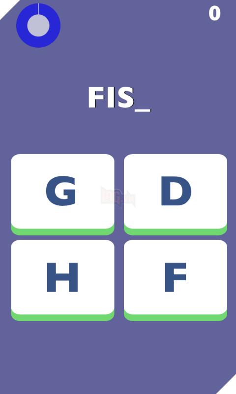 Trắc nghiệm tiếng Anh đơn giản với Spelling Rush 3