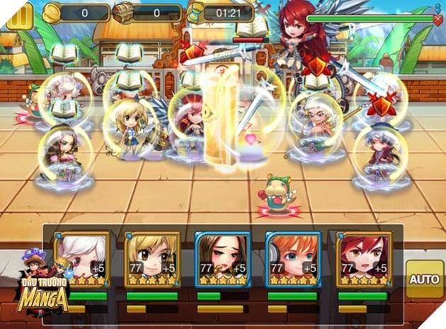 Đấu Trường Manga: tựa game anh hùng hội tụ đầu tiên trên smartphone
