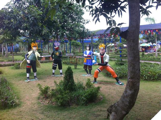 4 nhân vật của Naruto được tạo hình vô cùng hài hước.