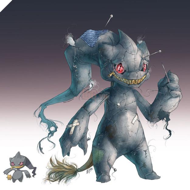 Choáng với bộ ảnh Pokemon theo phong cách bá đạo