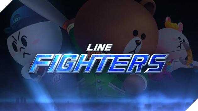 Line Fighters Game Nhập Vai đi Cảnh Nhiều Màu Sắc đáng để Thử