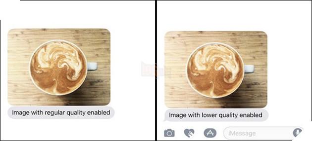 Cách tiết kiệm 3G khi gửi ảnh qua iMessage trên iOS 10.