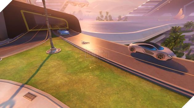 Bạn có thể bị ô tô đâm chết trong Overwatch vì qua đường không nhìn trước nhìn sau