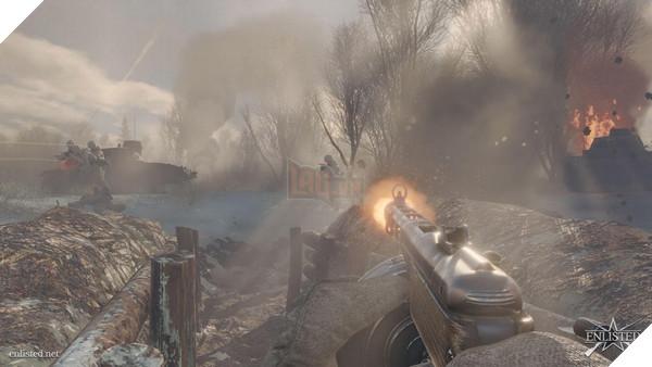 Hé lộ tựa game bắn súng lấy bối cảnh Đệ nhị Thế chiến mới dành cho PC