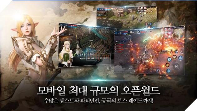 Lineage II: Revolution - Bom tấn hành động siêu đồ họa đã ra mắt
