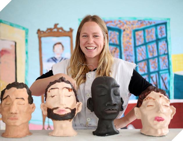 Quá mệt mỏi vì độc thân lâu năm, nữ nghệ sĩ trẻ tự tạo cả series bạn trai cho mình - Ảnh 4.