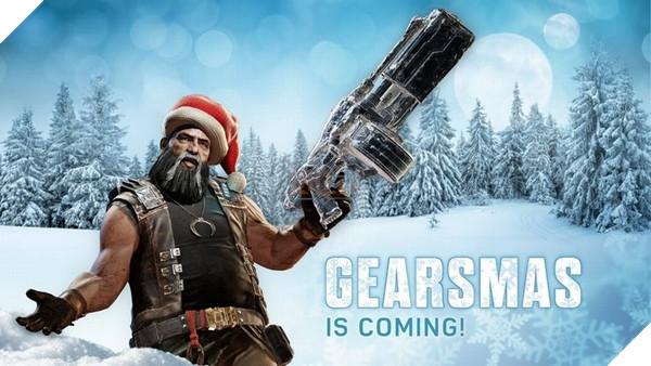 Gears of War 4 mừng giáng sinh với áo giáp màu mè cùng chế độ bắn tuyết 3