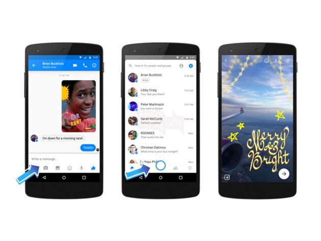 Facebook Messenger vừa ra mắt nhiều bộ lọc bá đạo cho camera, fan tự sướng sẽ thích mê - Ảnh 3.