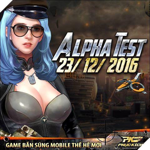 Phục Kích Mobile mở Alpha Test giới hạn