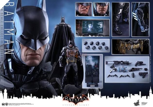 Choáng với bộ mô hình Batman ngầu hơn cả người thật
