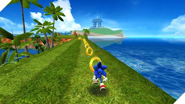 Hình ảnh trong game Sonic Dash