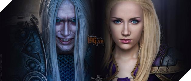 Bộ ảnh cosplay tuyệt đẹp về chuyện tình giữa Arthas và Jaina Proudmoore