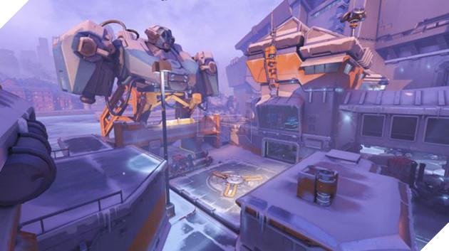 Map cho ô tô đâm chết người chính thức ra mắt trong Overwatch