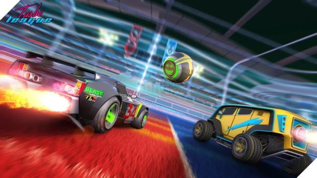 Xuất hiện bản di động game đua xe đá bóng Rocket League
