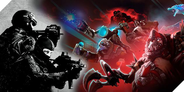 DOTA 2 và CSGO vẫn tiếp tục thể hiện vai trò đặc biệt quan trọng đối với Steam.
