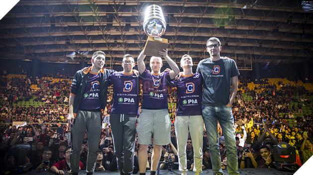 Digital Chaos lần đầu tiên giành chức vô địch với ESL One Genting