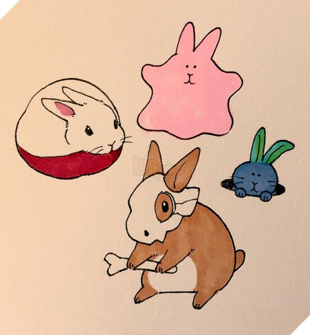 Các bạn Pokemon hóa thành thỏ hết rồi nè.