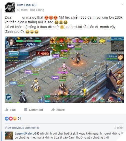 """Game thủ Võ Lâm Truyền Kỳ Mobile lại """"khổ"""" vì Hoa Sơn Luận Kiếm"""