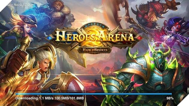Heroes Arena - Hàng khủng MOBA mới nhất vừa cập bến Android
