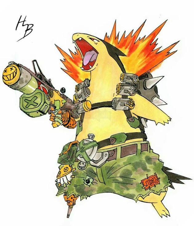 Thích thú với bộ ảnh Pokemon bỗng 'nổi hứng' cosplay các hero Overwatch