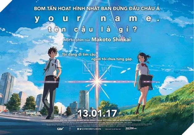 Phim hoat hinh 'Your Name' co thang loi kho tin tai Han Quoc hinh anh 1