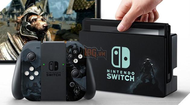 The Elder Scrolls V: Skyrim chính thức có mặt trên Nintendo Switch