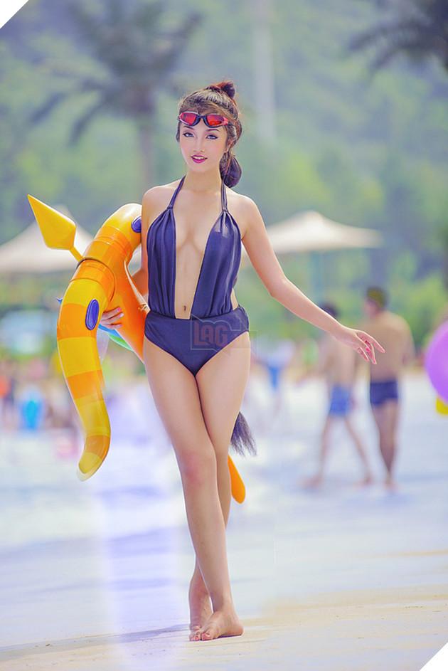 Nóng mắt với cosplay Vayne Bể Bơi trong Liên Minh Huyền Thoại