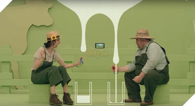 Milk - tựa game hài hước dành cho Nintendo Switch.