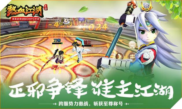 Hiệp Khách Giang Hồ hồi sinh với phiên bản Mobile tại máy chủ Trung Quốc 2