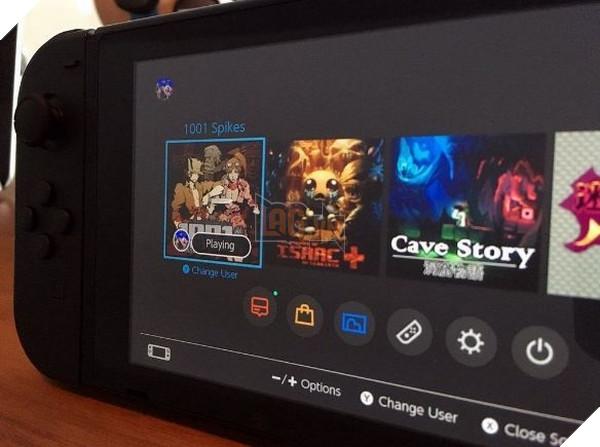 Giao diện Nintendo Switch cùng một tựa game mới được tiết lộ 2