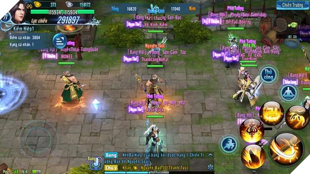 VLTK Mobile: Những đội hình hùng bá Hoa Sơn Luận Kiếm 2