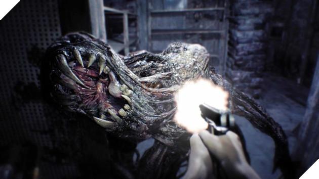 Resident Evil 7 có không ít khoảnh khắc khiến game thủ giật bắn mình vì sợ.