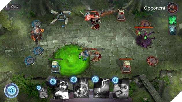 Spellsouls: Duel of Legends - Game đấu bài dung nhập MOBA cực khủng của năm 2017