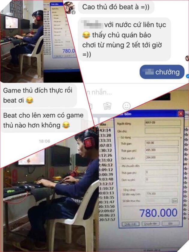 Cam bái hạ phong với thanh niên ngồi Net từ mồng 2 Tết đến giờ, phí chới game gần 1 triệu đồng