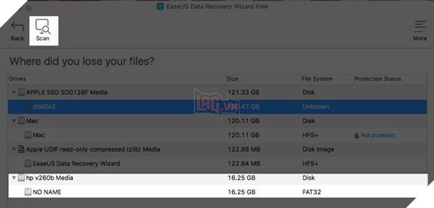khôi phục dữ liệu