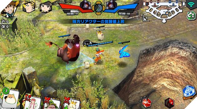 """FLAME x BLAZE - MOBA hành động với phong cách """"siêu độc"""" từ Square Enix"""