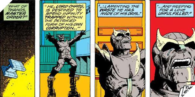Và trong kế hoạch độc chiếm Infinity Gem của Thanos thì đây là viên ngọc  cuối cùng mà hắn cần nên gã trùm này đã mò tới nơi Adam Warlock ở, ...