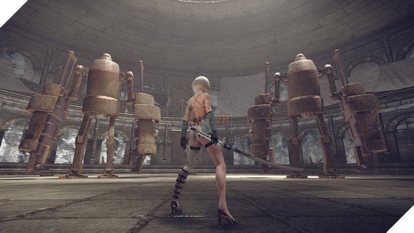 DLC mới của Nier: Automata cho bạn đánh nhau với ... CEO của Square Enix