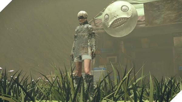 DLC mới của Nier: Automata cho bạn đánh nhau với ... CEO của Square Enix 2