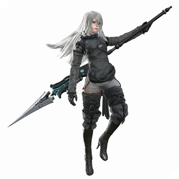 DLC mới của Nier: Automata cho bạn đánh nhau với ... CEO của Square Enix 3