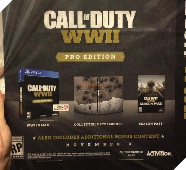 Call of Duty WWII: Chi tiết phiên bản Digital Deluxe và Pro Edition