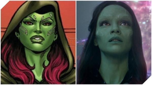 Các nhân vật trong Guardians of the Galaxy trong truyện tranh trông như thế nào? Phần 2