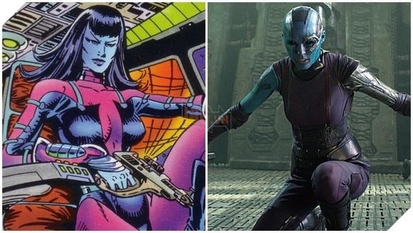 Các nhân vật trong Guardians of the Galaxy trong truyện tranh trông như thế nào? Phần 2  5