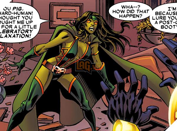 Các nhân vật trong Guardians of the Galaxy trong truyện tranh trông như thế nào? Phần 2  2
