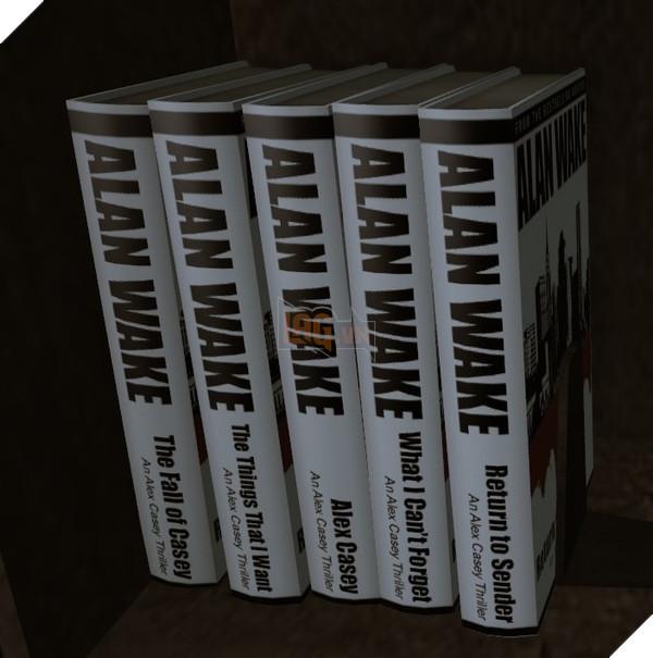 Seri tác phẩm Alex Casey của Alan Wake