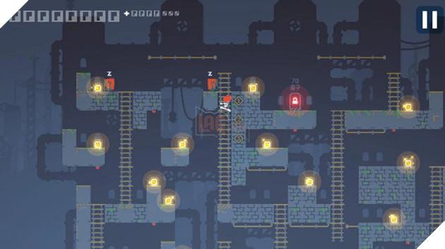 Lode Runner 1 - Game mobile vượt chướng ngại vật hấp dẫn từ Nexon