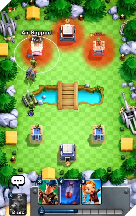 Boom Force - Game chiến thuật cực giống Clash Royale nhưng bối cảnh Thế chiến 2
