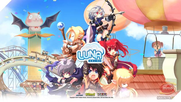 Luna Online La Tua Game Do Funtime Han Quoc Phat Trien Chinh Thuc Mo Cua Vao Thang 122008 Nhap Vai Hoat Hinh Voi Phong Cach