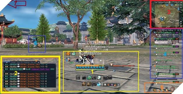 BnS: Giới thiêu giao diện game cơ bản dành cho tân thủ 2