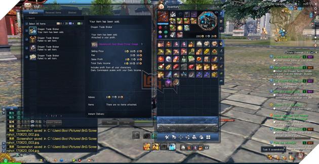 BnS: Giới thiêu giao diện game cơ bản dành cho tân thủ 9